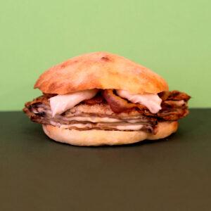 Cime di Rapa: panino Frankie's Parmiggiana